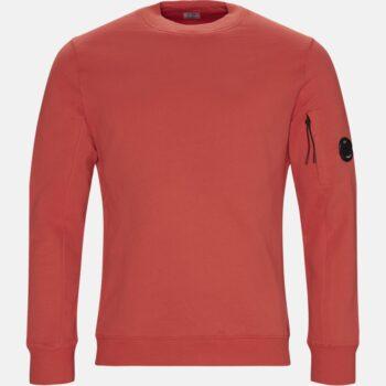 17af06d5009 C.P. COMPANY Regular fit | Crew Neck Diagonal Fleece Sweatshirt | Rød